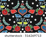 seamless pattern. butterfly ...