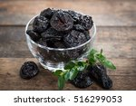 Dried Plums   Prunes In The Bowl