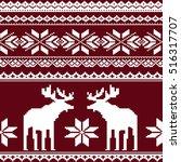 scandinavian style seamless ...   Shutterstock .eps vector #516317707