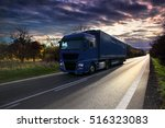 truck on the road | Shutterstock . vector #516323083