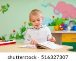 cute boy  kid with special... | Shutterstock . vector #516327307