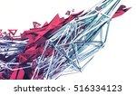 abstract 3d rendering of... | Shutterstock . vector #516334123