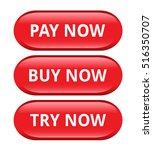 payment commercial buttons | Shutterstock .eps vector #516350707