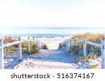 path to the beach at baltic sea | Shutterstock . vector #516374167