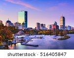 boston  massachusetts  usa...   Shutterstock . vector #516405847