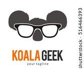 Koala Logo Icon Symbol Template