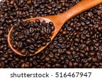 roasted coffee beans | Shutterstock . vector #516467947