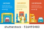 car service automobile banner... | Shutterstock .eps vector #516493483