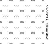 glasses pattern. simple... | Shutterstock .eps vector #516500977