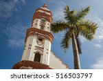 Bell Tower Of The Church In Th...