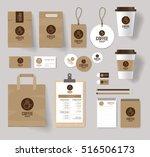corporate branding identity... | Shutterstock .eps vector #516506173