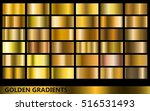 golden gradients collection ... | Shutterstock .eps vector #516531493