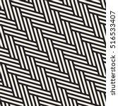 vector seamless pattern. modern ... | Shutterstock .eps vector #516533407