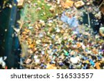 blur a lot of garbage in the... | Shutterstock . vector #516533557