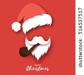 Santa Claus Hat And Beard....