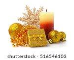 Christmas Gift Box And...