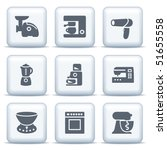 icons with gray buttons 19   Shutterstock .eps vector #51655558