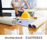 architect concept  architects... | Shutterstock . vector #516590833