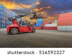 container truck  container at