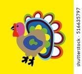 vector illustration cartoon... | Shutterstock .eps vector #516635797