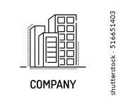 company line icon | Shutterstock .eps vector #516651403