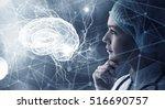innovative technologies in... | Shutterstock . vector #516690757