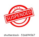 illustration of suspended word... | Shutterstock . vector #516694567
