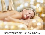 people  beauty  spa  healthy... | Shutterstock . vector #516713287