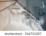 wedding dresses | Shutterstock . vector #516721207
