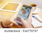 bangkok  thailand   november 15 ... | Shutterstock . vector #516770737