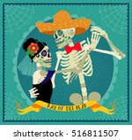 invitation poster to the day of ... | Shutterstock .eps vector #516811507