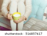 Soft Photo Of Woman With Cup O...