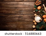 culinary background for... | Shutterstock . vector #516880663