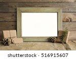 Mockup Frame Scene With...