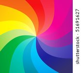 Rainbow Swirly Background  ...
