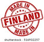 made in finland. stamp. | Shutterstock .eps vector #516932257