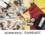 research and development... | Shutterstock . vector #516981637