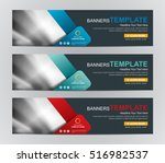 abstract banner design... | Shutterstock .eps vector #516982537