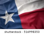 waving colorful national flag... | Shutterstock . vector #516998353