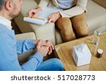 psychological consultation | Shutterstock . vector #517028773