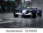 speeding f1 car | Shutterstock . vector #5170345