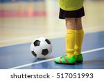 football futsal training for... | Shutterstock . vector #517051993