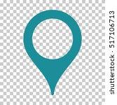map pointer eps vector... | Shutterstock .eps vector #517106713