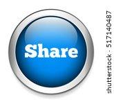 share button | Shutterstock .eps vector #517140487