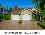garage  garage doors with long... | Shutterstock . vector #517144843
