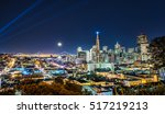 beautiful super moon over san...   Shutterstock . vector #517219213