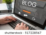 blogging blog word coder coding ... | Shutterstock . vector #517228567