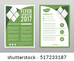 brochure template layout  cover ... | Shutterstock .eps vector #517233187