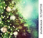christmas background | Shutterstock . vector #517269733