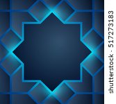 abstract background glow arabic ... | Shutterstock .eps vector #517273183